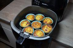 Deze heerlijke gezonde muffins hebben maar 3 ingrediënten en maak je eenvoudig in de Airfryer! - Zelfmaak ideetjes