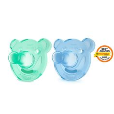 Philips Avent Soothie pacifier-Bear 0-3M 2PACK