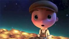 In this beautifully animated short film from Pixar, a little boy takes a trip to the moon and finds that it is covered with falling stars. Pixar Shorts, Third Grade Reading, Character Trait, Readers Workshop, Sixth Grade, Disney Films, Teaching Spanish, 4 Kids, Kids And Parenting