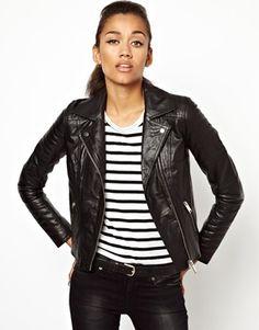 River Island Leather Biker Jacket | ASOS | 168.76