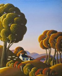 SIGHING GRASSES by George Callaghan at Ross's Auctions