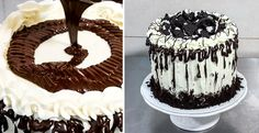 Oreo Cake Decorating Idea - Cheese Cream Recipe by CakesStepbyStep
