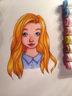 Jeune fille by melnina34 on @DeviantArt