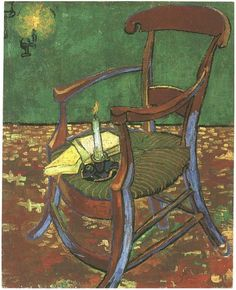 Paul Gauguin s Armchair - Vincent van Gogh | Van Gogh | Pinterest ...