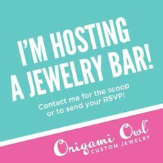 Please visitwww.tiffanyreedhoffman.origamiowl.com and place any order under Vicki's Jewelry Bar. The Jewelry Bar will close on 04/30/2014 which should be delivered before Mother's Day.