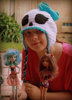 Crochet Monster High hat