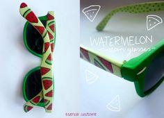 Watermelon Sandia Sunnies sunglasses gafas