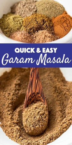 Garam Masala is a wonderful aromatic Indian spice, but it can be expensive or hard to find. This quick & easy version made from ground spices can help you out in a pinch. AD