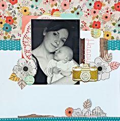 Happy Memories - Pink Paislee - Cedar Lane Collection