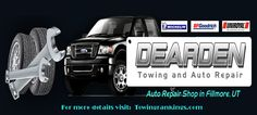 Dearden Towing and Auto Repair has been doing business in Fillmore, UT since 1938, specializing in Auto Repair, Collision Repair, Heavy Duty Repair And Towing, Diesel Repair And Towing.  For more details visit: http://www.towingrankings.com/dearden-towing.html