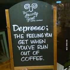 All we need is coffee