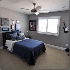 room reveal for rock fan bedroom
