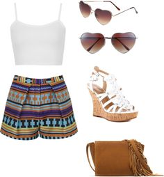 """""""Summer hipster"""" by tifftiff93 on Polyvore"""