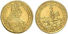 German States/ Hohenlohe-Neuenstein AV Dukat 1697 Nuremberg Mint Graf Wolfgang Julius Von Neuenstein