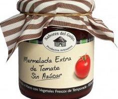 Mermelada 100% Artesanal de Tomate SIN AZÚCAR y SIN GLUTEN