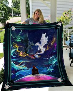 How To Train Your Dragon Toothless Hiccup And Astrid For Kids Quilt Dragon 2, Toothless Dragon, Dragon Rider, Httyd Dragons, Dreamworks Dragons, Hiccup And Astrid, Summer Quilts, Dragon Print, Wings Of Fire