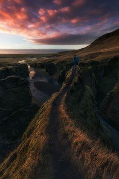 Fjadrargljufur - @DAVID MARTIN CASTAN - #landscape