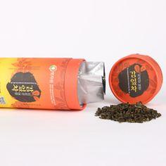 Persimmon Leaf Tea from Korean Hwagae Jirisan Mountain