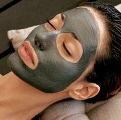 Mascarilla facial de arcilla ghassoul con aceite de argán