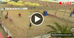 Pescara Camera Live : Live cam in pescara beach volley courts! watch it visiting our web