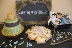 Wild things party... I like the moss effect around the sign.