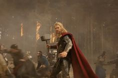 'Thor: The Dark World' looks to be bigger and better than the original movie! Thor 2, Great King, The Dark World, Original Movie, A Good Man, The Darkest, Marvel, Hoodies, Parka