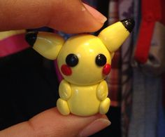 Kawaii pikachu charm by Saloscraftshop