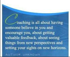 Coaching is rewarding