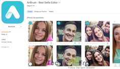 Enhance Your Selfies With AirBrush