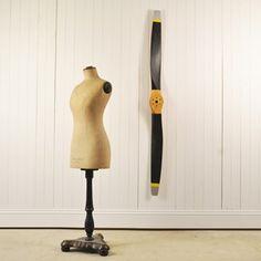 Vintage Wooden Propeller - The Hoarde