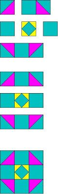 The Quilt Ladies Book Collection: Simple Triangle Quilt Block Pattern