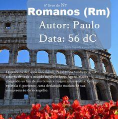 Bíblia Sagrada e seus livros: ROMANOS - Autor e Data (Rm)