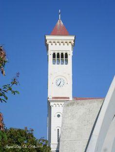 Cùpula de la parroquia Nuestra Señora de Lourdes, Agua Santa, Viña del Mar