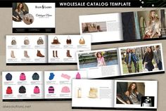 wholesale catalog template mini product brochure by aiwsolutions