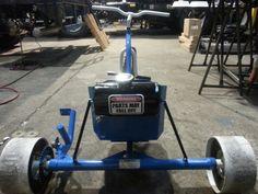 Motorized drift trike 80cc big wheel