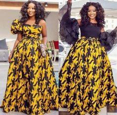 African dress, women fashion, vintage clothing, Ankara gown, dashiki print, handmade, African fashio