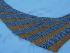 Lankaterapiaa: Hidasta elohopeaa - Quicksilver shawl by Melanie Berg
