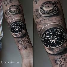 """Képtalálat a következőre: """"compass map tattoo"""""""