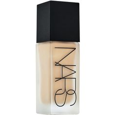 NARS All Day Luminous Weightless Foundation ($48) ❤ liked on Polyvore featuring beauty products, makeup, face makeup, foundation, beauty, filler, nars cosmetics and oil free foundation
