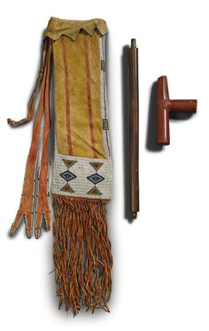 Cheyenne Pipe Bag with Pipe.