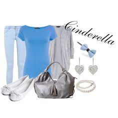 Cinderella, created by sydney-emerson on Polyvore