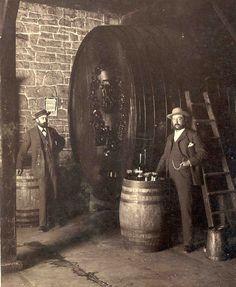California History - Napa County - St. Helena - Beringer Vineyards - Jacob and Frederick Beringer www.thomas19.com