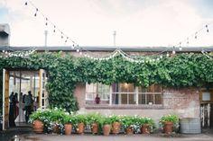 Blanc Denver, Colorado wedding venue. #courtyard photo: Carrie King Photographer