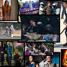 Not my edit but a really good collage hungergames#catchingfire#movies #theatre