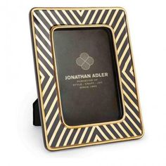 Jonathan AdlerBilderrahmen Futura X-Line Ceramic Frame schwarz von Jonathan…