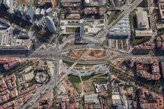 Buena movilidad en verano, durante las obras de Barcelona