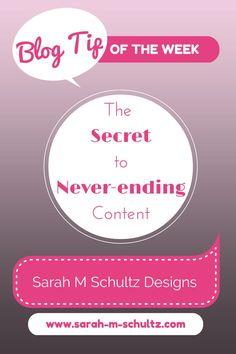 The Secret to Never-Ending Content: Batching #blogging101 #contentcreation #bloggingtips (scheduled via http://www.tailwindapp.com?utm_source=pinterest&utm_medium=twpin&utm_content=post441715&utm_campaign=scheduler_attribution)