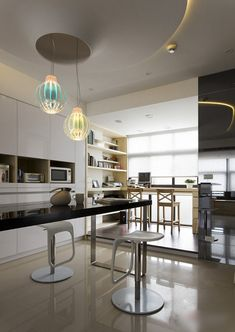 modern black and white apartment 8 interiors