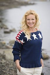 Nina Granlund Sæther Design: Stars and stripes - on Ravelry.