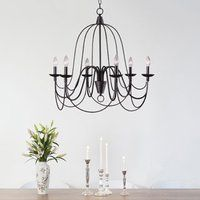 Shop for Copper Grove Fraleigh Blackened Oil Rubbed Bronze Chandelier. Get free delivery at Overstock - Your Online Ceiling Lighting Store! Get in rewards with Club O! Bronze Chandelier, Chandelier Lighting, Iron Chandeliers, Gothic Chandelier, Chandelier Centerpiece, Bathroom Chandelier, Chandelier Ideas, White Chandelier, Antique Chandelier